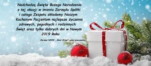 Życzenia świąteczne od Med-Orzeł